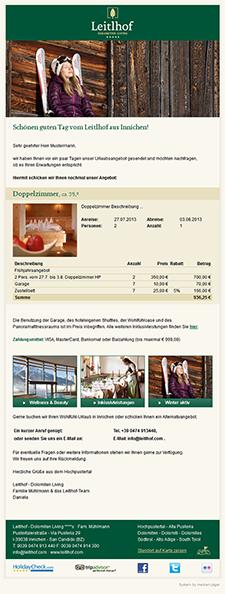 Tourismail Perfekte E Mail Korrespondenz Und E Mail Marketing